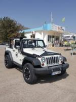 Jeep wrangler automaat cabrio 4 persoons jeep